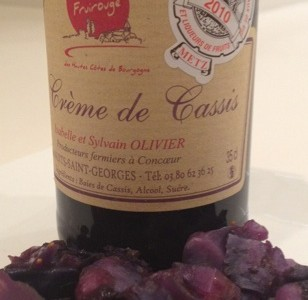Creme de Cassis From Bourgogne (Burgundy, France)