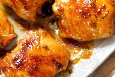 Sweet Chicken Recipe for the Jewish New Year