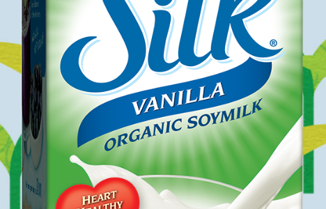 Silicon Dioxide in Silk® Organic Soymilk
