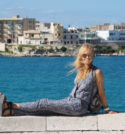 Layne by the sea in Otranto
