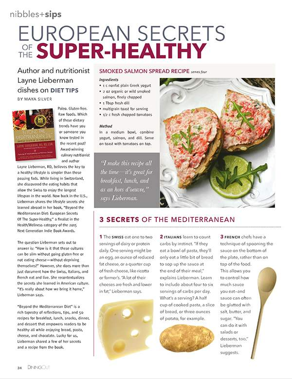 European Secrets of the Super-Healthy
