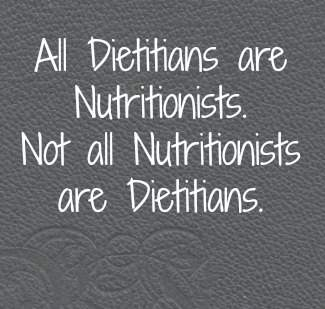 Nutritionist vs Dietitian