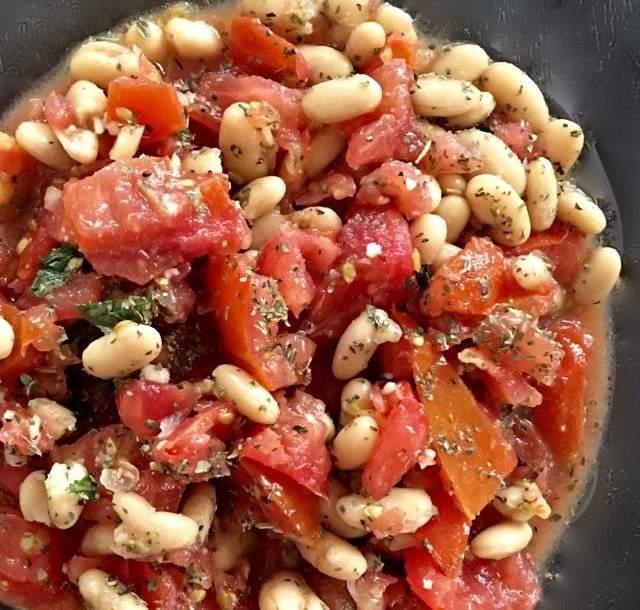 Layne's Bean Bruschetta