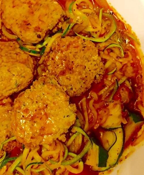 Tofu Un-Meatballs