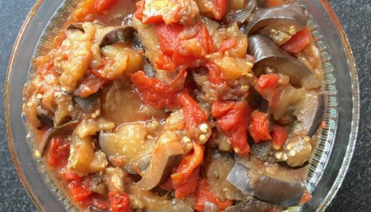 YumTime with Eggplant + Tomato