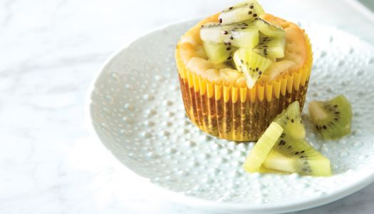 Live Naturally Magazine Features Layne's Slightly Sweet Ricotta-Yogurt Cheesecake Muffins